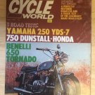 Cycle World Magazine February 1970 Rickman 8 Valve Triumph T100C AJS 250
