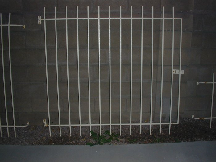 Security wrought iron