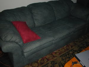 Forest Green Sofa/ Loveseat Set