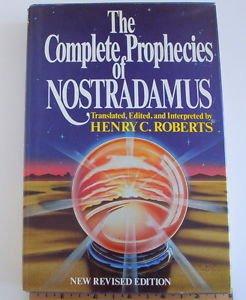 The Complete Prophecies of Nostradamus (1982, Hardcover) collectible revised edi