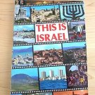 This is Israel 1983 by Sylvia Mann - Pictorial Guide and Souvenir Ed illus trave
