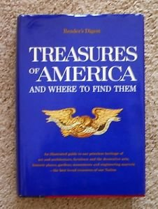 Treasures of America and Where to Find Them (1974) illustrated travel geography