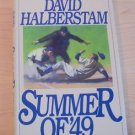 Summer of '49 by David Halberstam (1989, Hardcover) first edition collectible