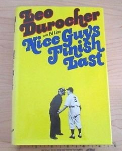 Nice Guys Finish Last by Ed Linn and Leo Durocher (1975, Hardcover) 1st Edition