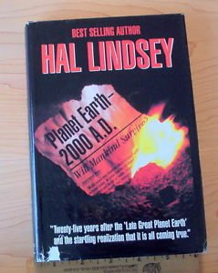 Planet Earth, 2000 A. D. by Hal Lindsey (1994, Hardcopy) rare hard to find in hc
