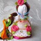 """Motanka Doll Made From Natural Fabrics - """"To Be Happy"""""""
