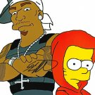 50 Cent Get Rich Or Die Tryin Simpsons Signed Autographed 8x10 Photo w/COA