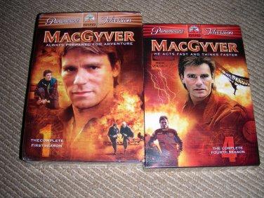 MacGyver season 1 and 4