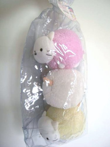 San-X Nyan Nyan Nyanko Cotton Candy x 3 Bag RARE