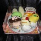 Nyanko Dessert Plate Box Set RARE