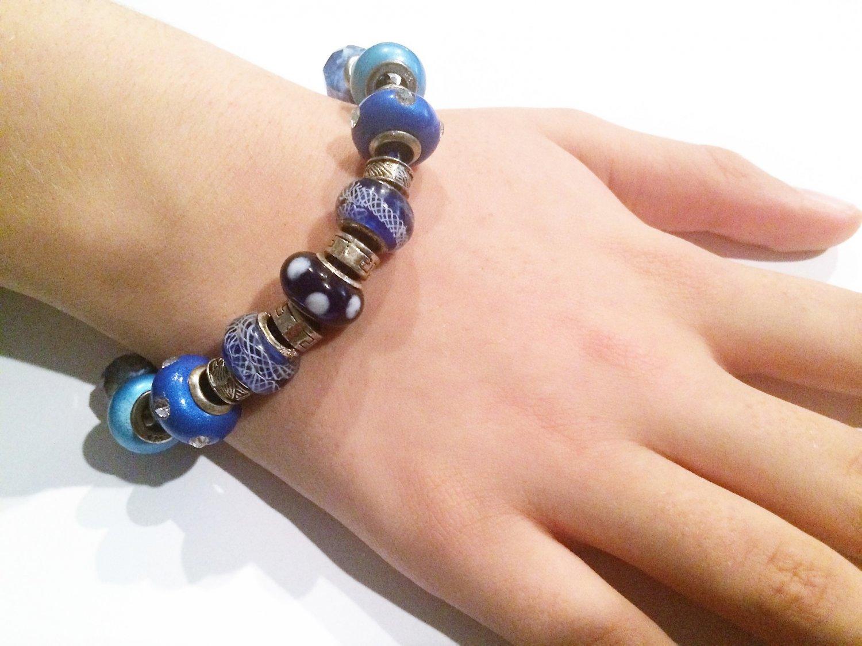 Mediterranean European Bead Bracelet
