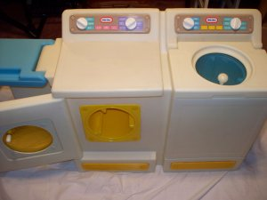 Little Tikes Tykes Washer Dryer Ironing Laundry Set