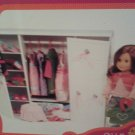 Our Generation Wardrobe Wooden Doll White Wardrobe