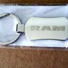 1x  RAM DODGE EMBLEM LOGO KEYRING KEYHAIN KEY FOB RING STAINLESS STEEL NEW