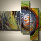 100%handmade deco oil painting on canvas for wall art:abstract