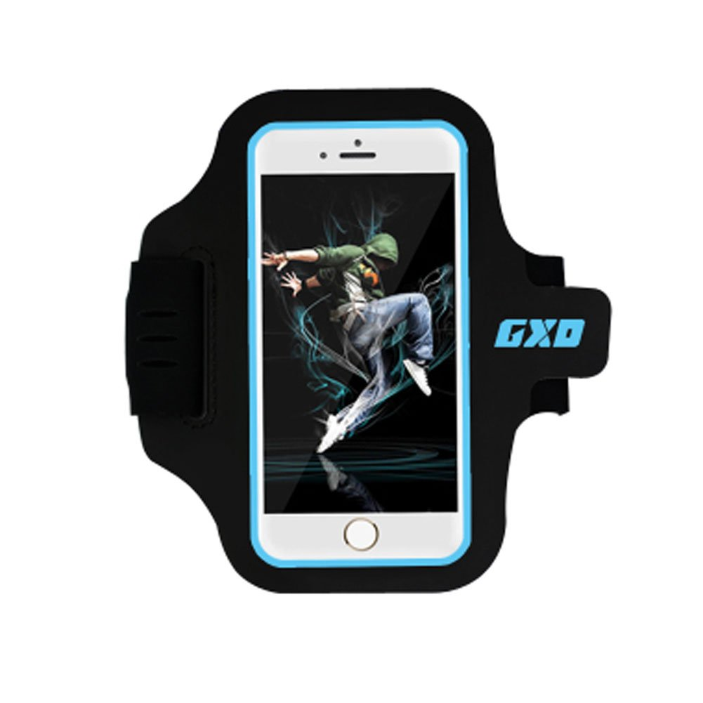 Kylin Express iPhone 6 Armband Case Cover Cell Phone Holder Sports Running Gym Cycle - Blue
