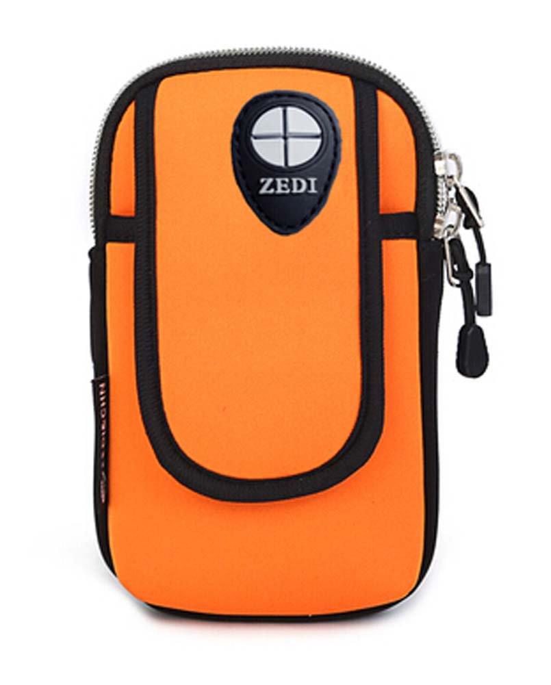 Iphone6 plus Package Salaxy S5 Orange Wrist Arm Bags Runners Pack Iphone Samsung