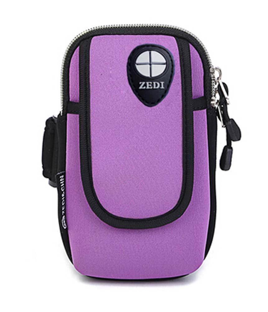 Iphone6 plus Package Salaxy S5 Purple Wrist Arm Bags Runners Pack Iphone Samsung