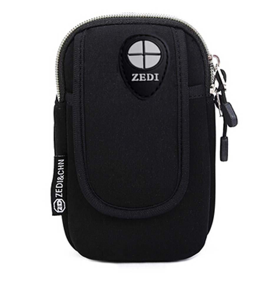 Iphone6 plus Package Salaxy S5 Black Wrist Arm Bags Runners Pack Iphone Samsung