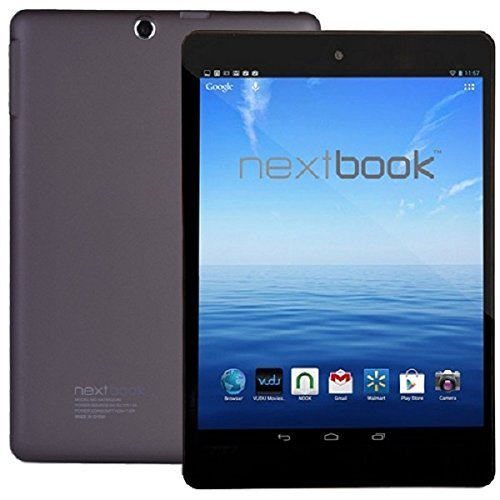 "NextBook 7.85"" Quad Core Android Tablet - Bluetooth - Dual Cameras Micro HDMI"