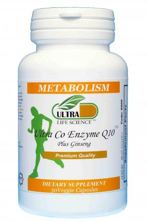 Ultra Energy Q10 (30 Vegetarian Capsules)