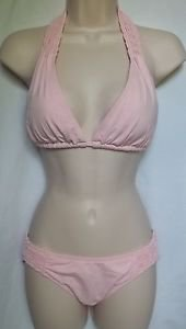 DKNY HALTER BRA AND CLASSIC BOTTOM, SIZE PETITE