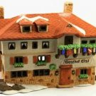 Dept 56 Christmas Alpine Village Series Gasthof Eisl Pub Inn Building 6540-4
