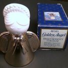 Vintage Avon GOLDEN ANGEL Collectible Bottle with Sweet Honesty Cologne 1 oz,NIB