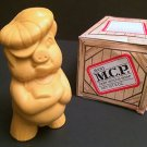 Rare Vtg Avon Male Chauvinist Pig in 'Fragile Box',Deep Wood Scent Soap 8 oz,NIB