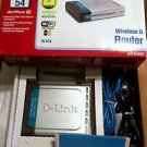 D-Link Airplus G Wireless Router 802.11g 2.4GHz DI-524 EUC Complete in box!