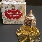 Vintage Avon Petti-Fleur Bottle with Charisma Cologne 1 oz, New in box old stock