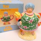 Day At The Beach Bathing Beauty Teapot - Lady in Swimsuit Ceramic 2004 NIB!