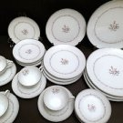 24 pc Noritake Mayfair China 6109 Dinner Set for 4! Customizable & Must See Set!