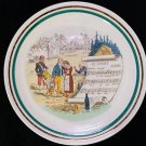 VINTAGE FRENCH SAUCER Plate Le Chalet PV White