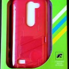 LG Risio Pink Kickstand Phone Case W/ Protective Shield - NIB & FREE SHIPPING!