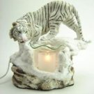 Tiger Burner Wax Tart Scented Oil Candle Warmer Electric Polyresin