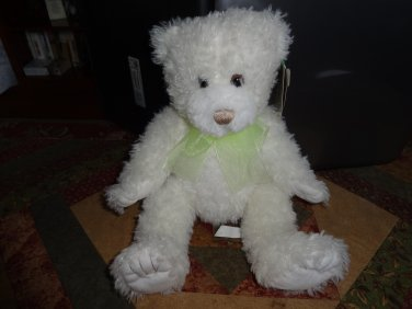 "NWT Scraggles 12"" Teddy Bear by First and Main Plush Stuffed Animal"
