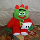 "Yo Gabba Gabba Nightime Glow Brobee 12"" Plush Sings Lights Up Nick Jr  TV"