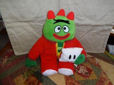 "Yo Gabba Gabba Nightime Glow Brobee 12"" Plush Sings Lights Up Nick Jr  TV"