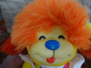 """Rainbow Brite 11"""" Puppy Brite 1983 Hallmark Mattel Vintage Dog Sprite Plush"""