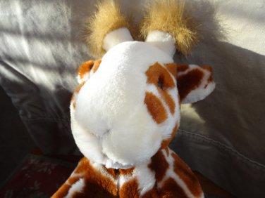 "DGE Corp. Plush 12"" Giraffe Stuffed Animal Toy In a Laying  Position"