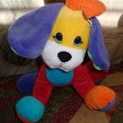 Well Made Toy Manufacturing Co. Multiple Colored Fleecy Friends Puppy Dog 10""