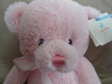 """NWT Baby Gund My First Teddy Bear 15"""" Pink Plush Lovey"""