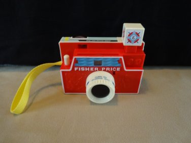 Fisher-Price Changeable Disc CAMERA flash snaps