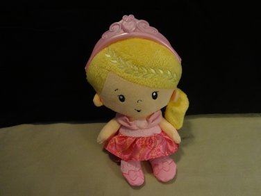Fisher-Price Blonde Princess Chime Doll Soft Plush Toy