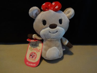 NWT Clarice Hallmark Itty Bittys Rudolph The Red Nose Reindeer Collection