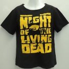 Night of the Living Dead George A. Romero horror movie t-shirt women's ~XL