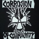 Corrosion of Conformity band ***MEDIUM*** t-shirt Black punk retro heavy metal