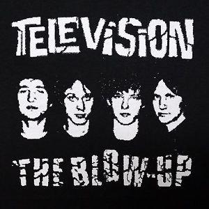 Television band ***SMALL*** screen printed t-shirt Black punk retro