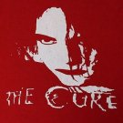 The Cure band ***MEDIUM*** screen printed t-shirt Red Robert Smith